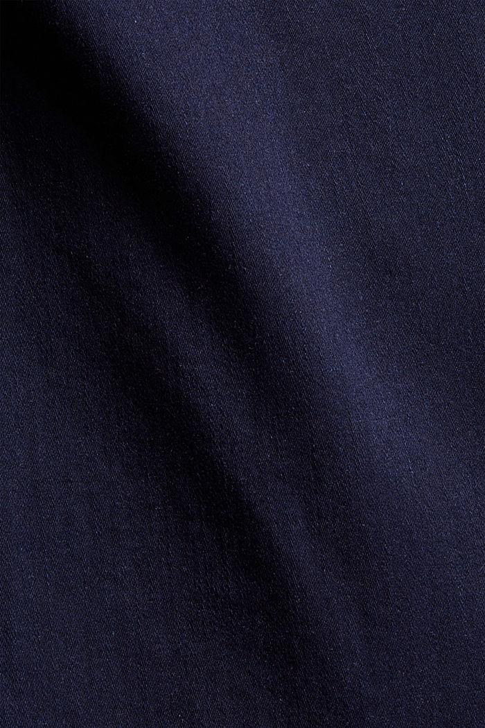 CURVY Jeans mit Knopfleiste und Kaschmir-Touch, BLUE RINSE, detail image number 4