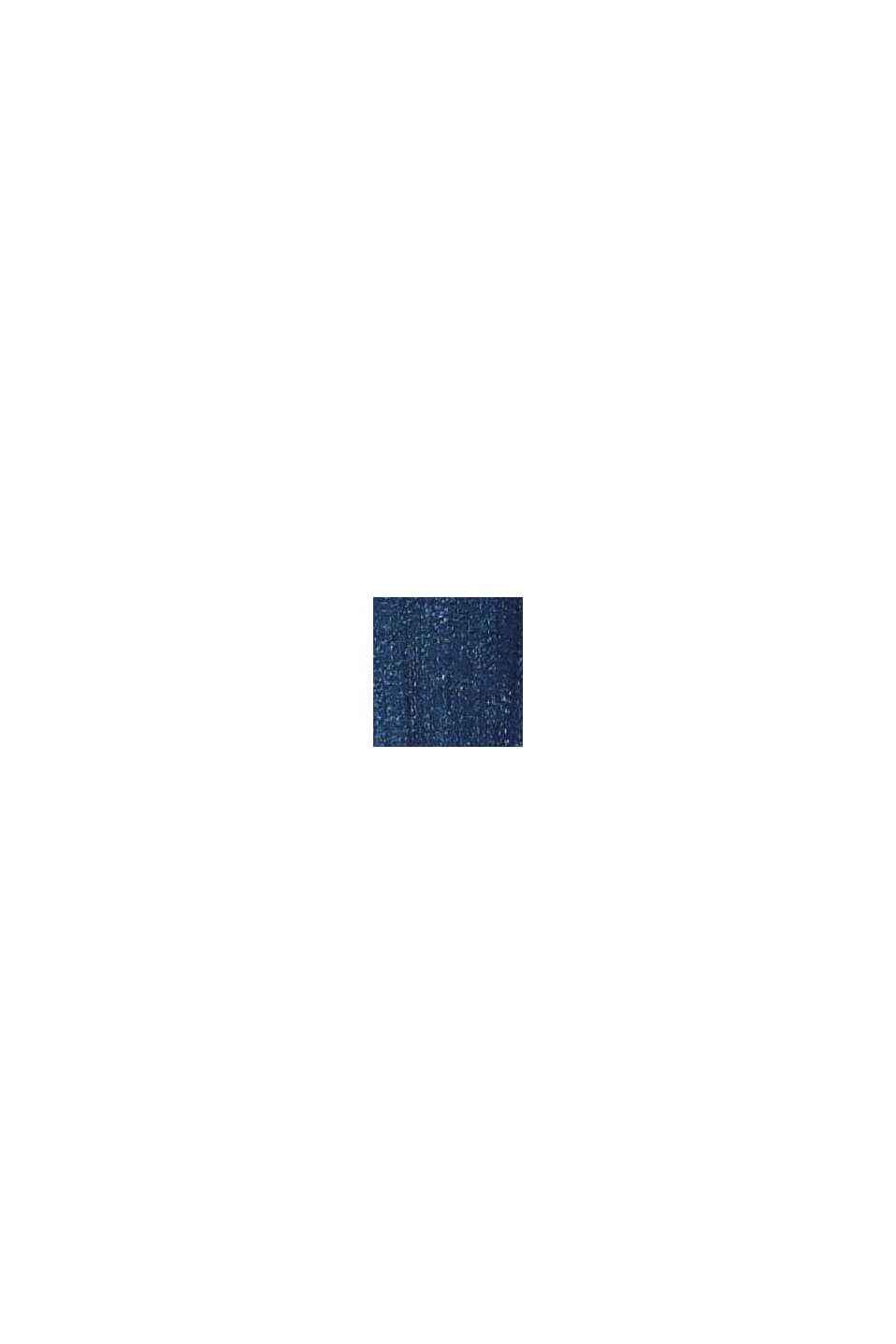 CURVY jeans met knoopsluiting en de touch van kasjmier, BLUE DARK WASHED, swatch