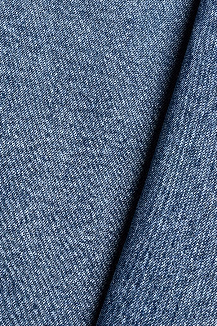 Jean à jambes larges , 100% coton biologique, BLUE MEDIUM WASHED, detail image number 4