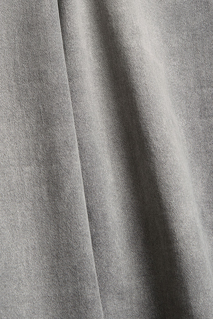 Superstretch-Jeans mit Trend-Waschung, GREY MEDIUM WASHED, detail image number 4
