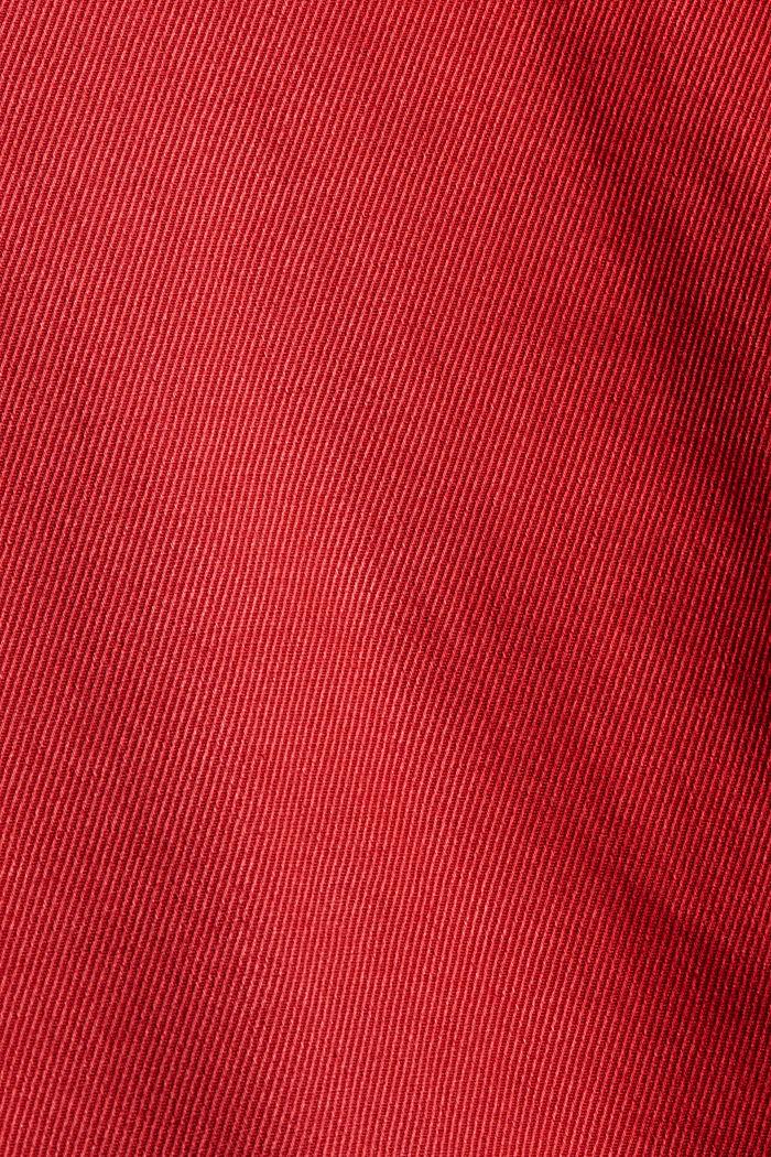 Twillhose aus TENCEL™-Bio-Baumwoll-Mix, RED, detail image number 4