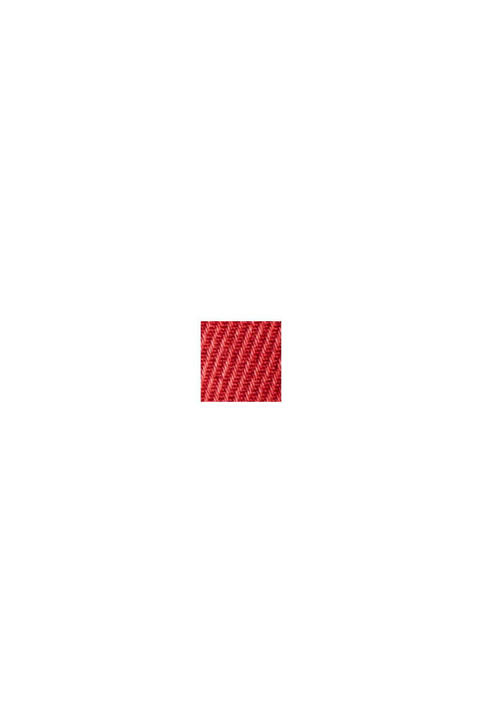 Tvillihousut TENCEL™-luomupuuvillasekoitetta, RED, swatch