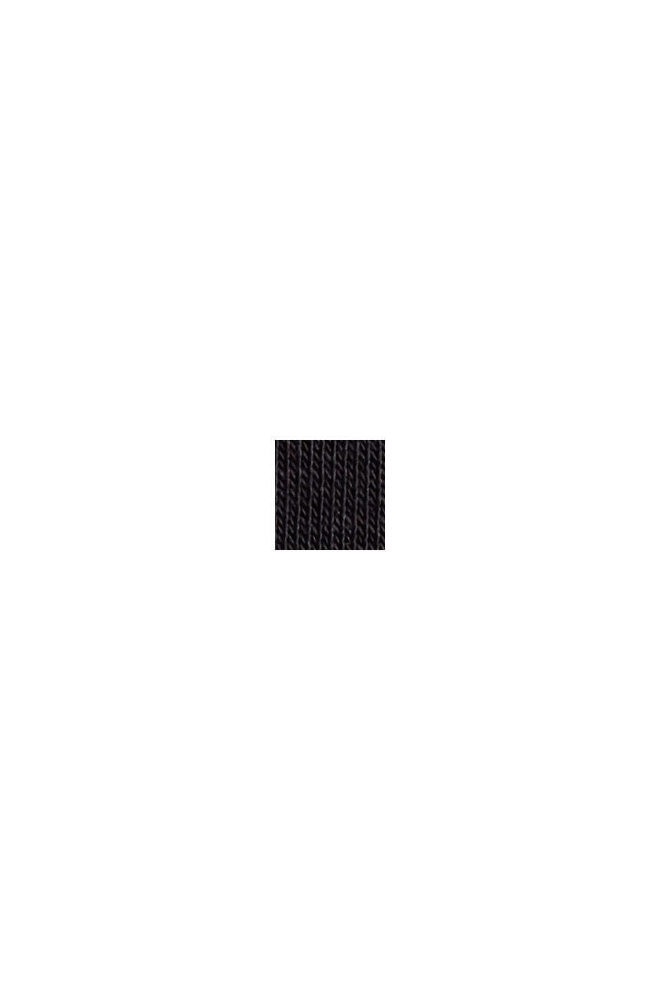 Pantalón de felpa muy suave con algodón ecológico, BLACK, swatch