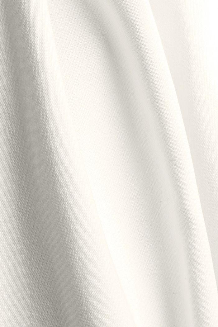 Extraweiche Sweathose mit Bio-Baumwolle, OFF WHITE, detail image number 4