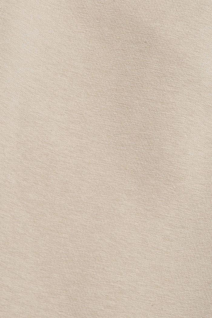 Extraweiche Sweathose mit Bio-Baumwolle, LIGHT TAUPE, detail image number 4