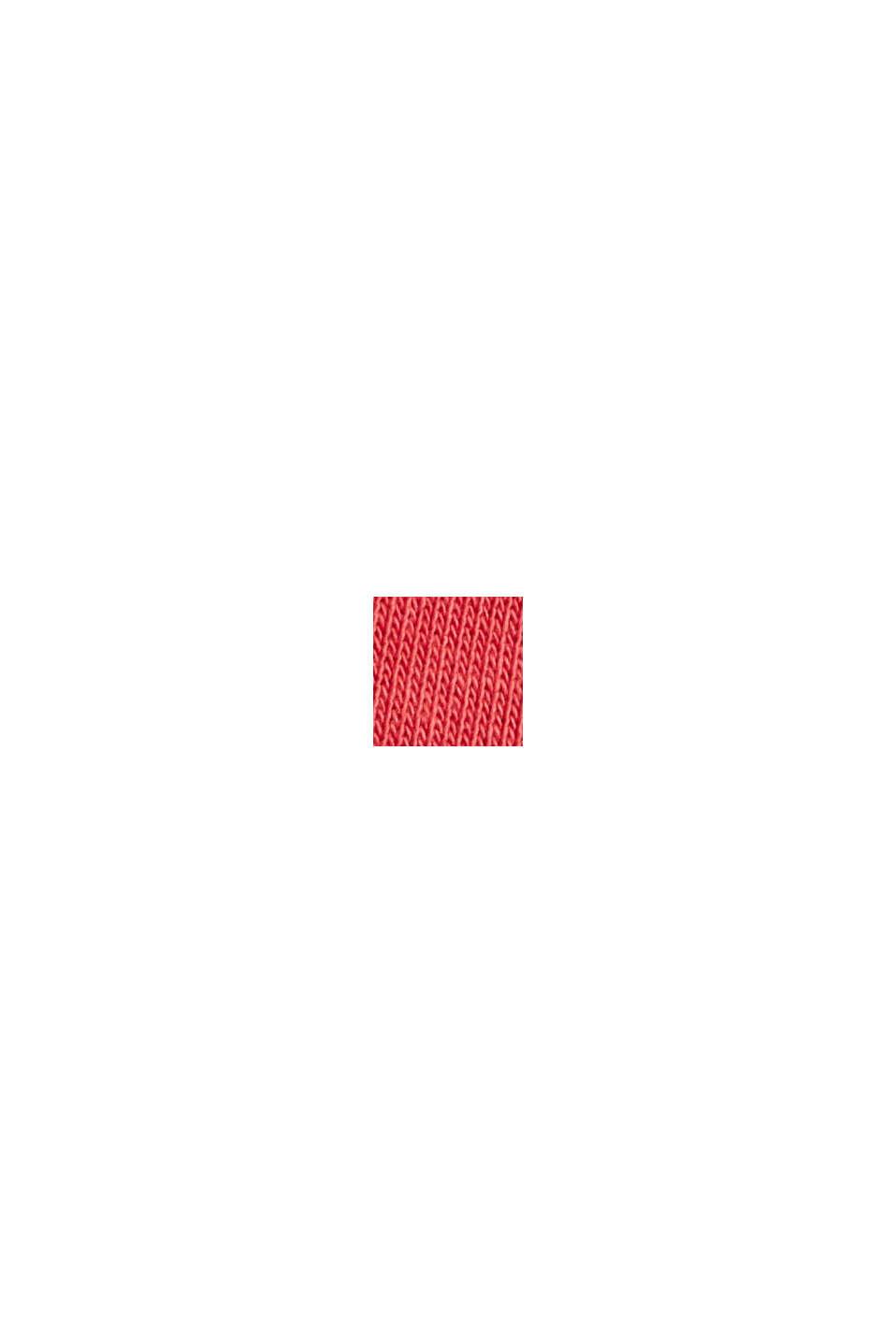 Pantalón de felpa muy suave con algodón ecológico, RED, swatch