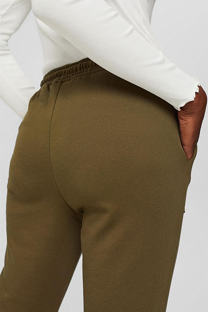 Sweathose im Jogger-Style, Organic Cotton, DARK KHAKI, detail image number 5