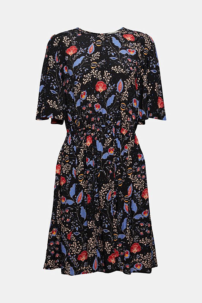Tailliertes Flower-Kleid mit LENZING™ ECOVERO™
