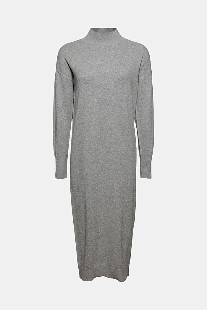 Robe-pull en coton mélangé