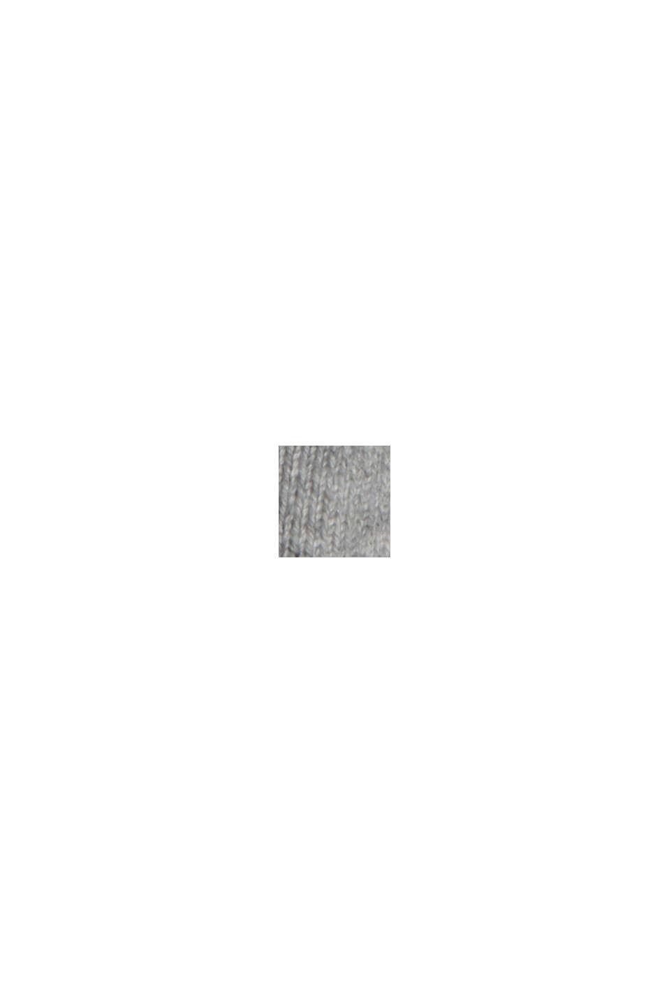 Robe-pull en coton mélangé, MEDIUM GREY, swatch