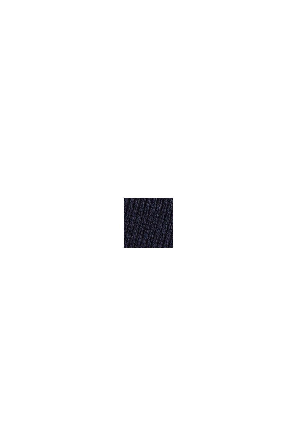 Vestido de punto en mezcla de algodón, NAVY, swatch