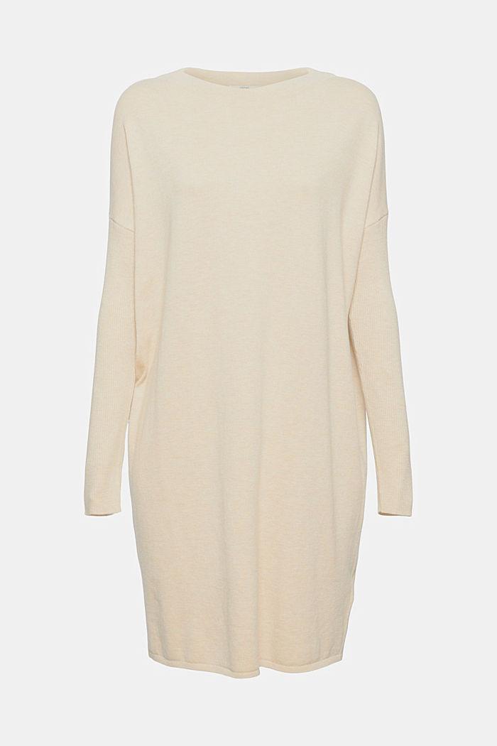 Robe-pull en coton mélangé, SAND, detail image number 7