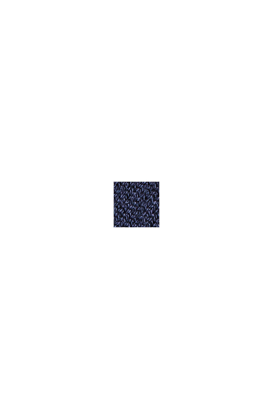 Strickkleid aus Baumwoll-Mix, NAVY, swatch