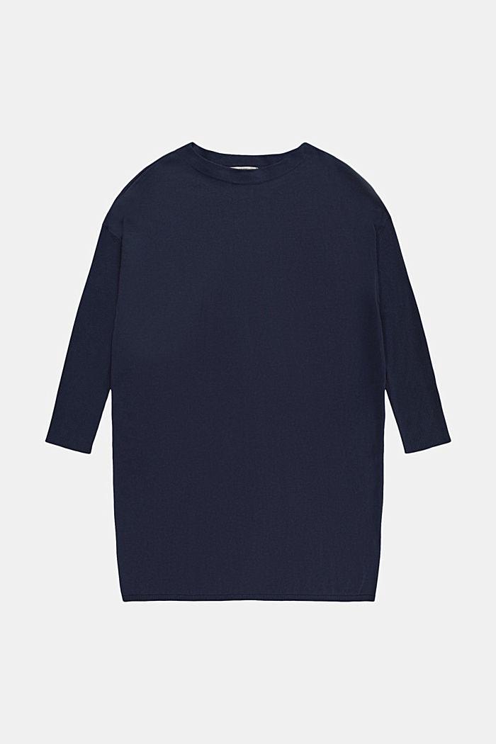 CURVY Abito a maglia con cotone biologico