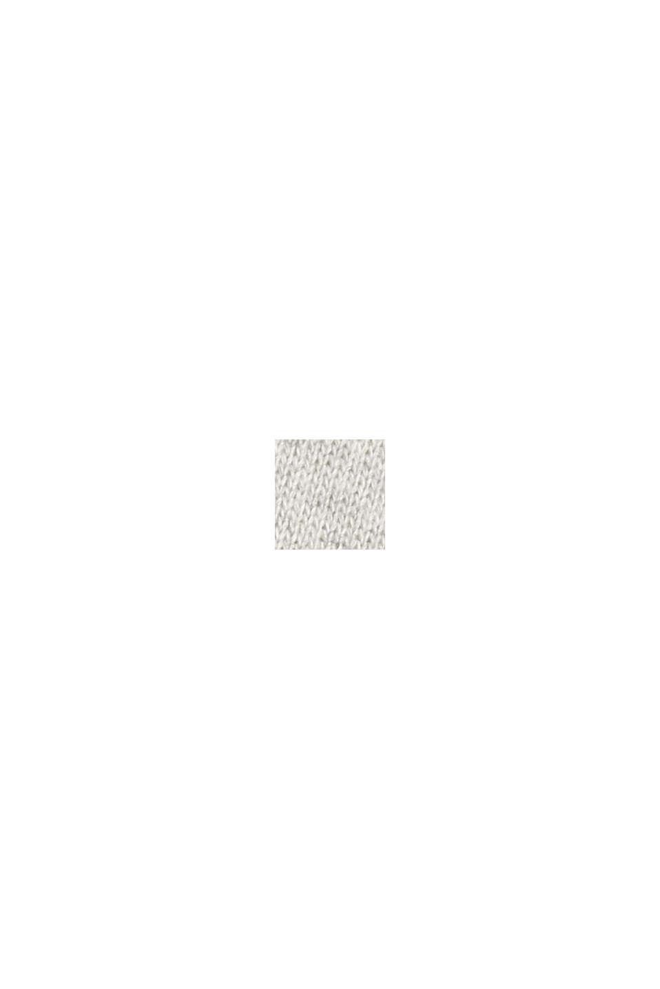 Sweathoodie-Kleid aus 100% Baumwolle, LIGHT GREY, swatch