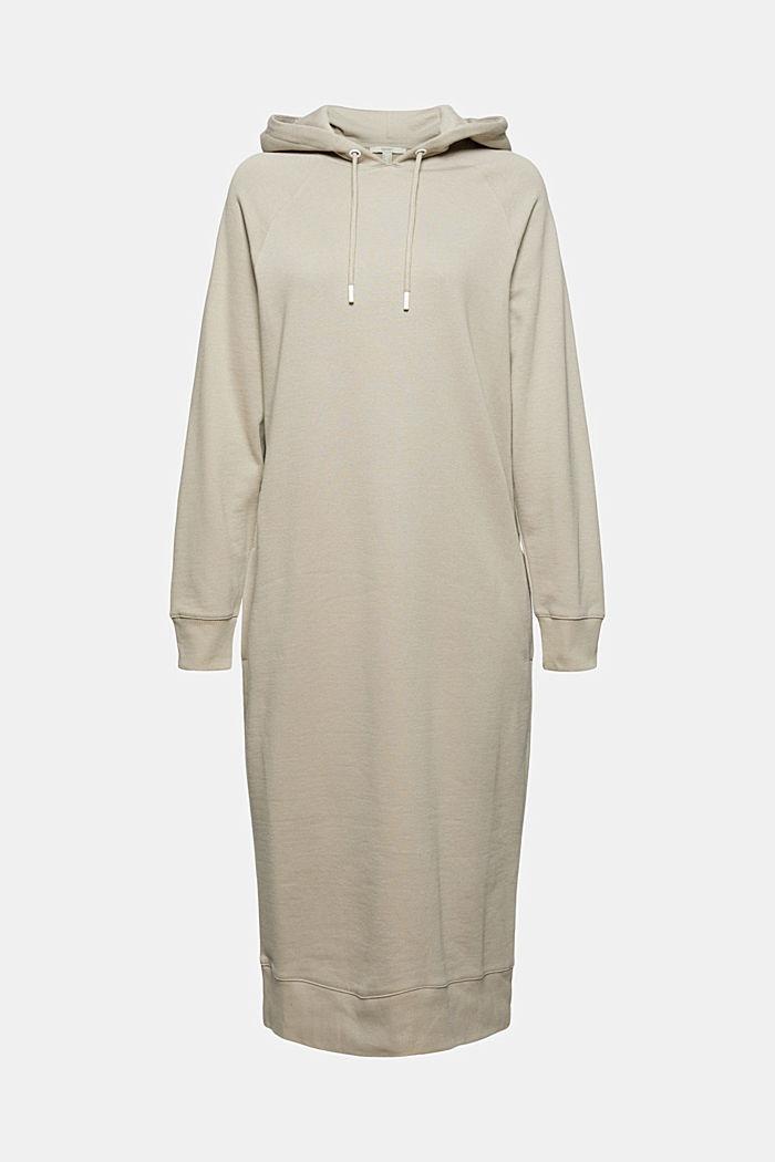 Robe molletonnée à capuche, en 100% coton