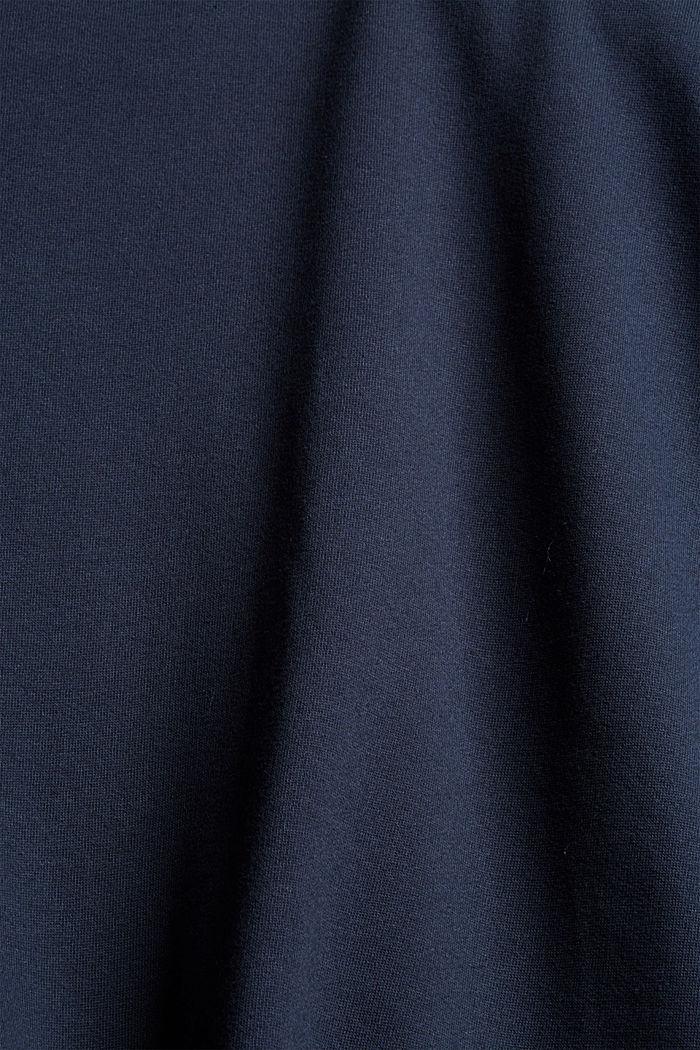 Sweathoodie-jurk van 100% katoen, NAVY, detail image number 4