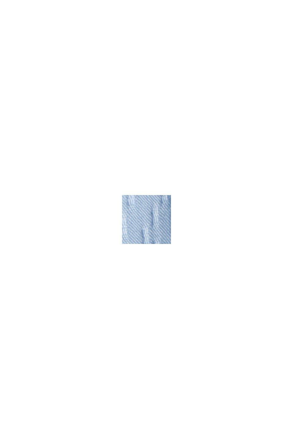 Blouse van LENZING™ ECOVERO™, PASTEL BLUE, swatch