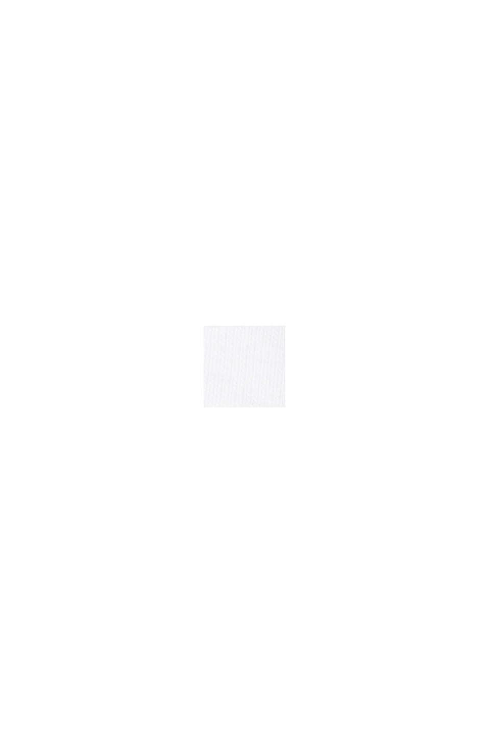 Tuniekblouse van 100% biologisch katoen, WHITE, swatch