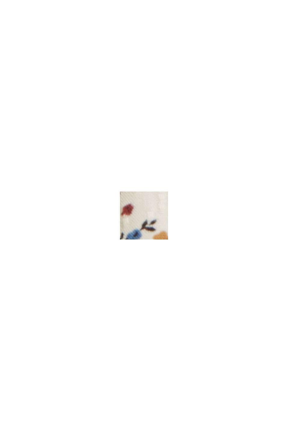 Millefleurs-Bluse aus LENZING™ ECOVERO™, OFF WHITE, swatch