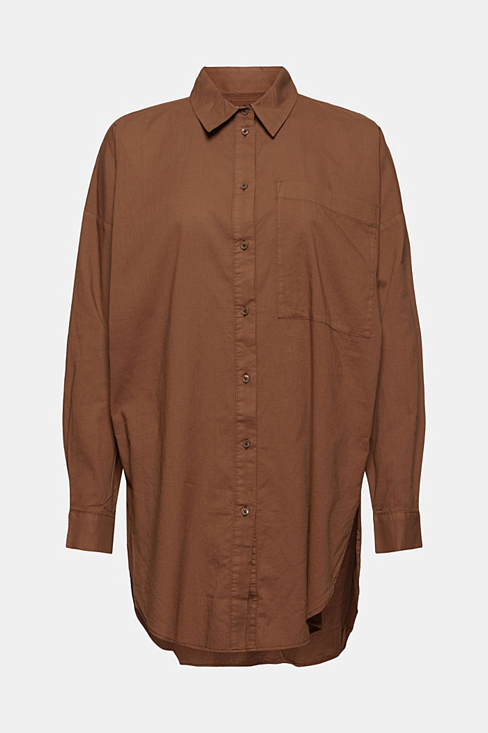 EarthColors® lange blouse, biologisch katoen