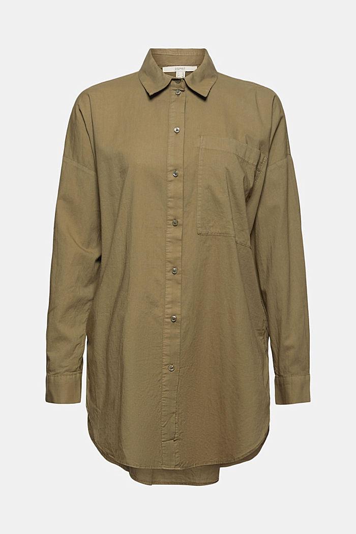 Blusa larga EarthColors® con algodón ecológico