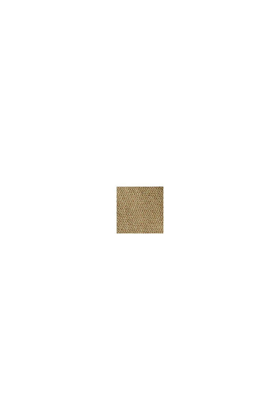 EarthColors® lange blouse, biologisch katoen, OLIVE, swatch