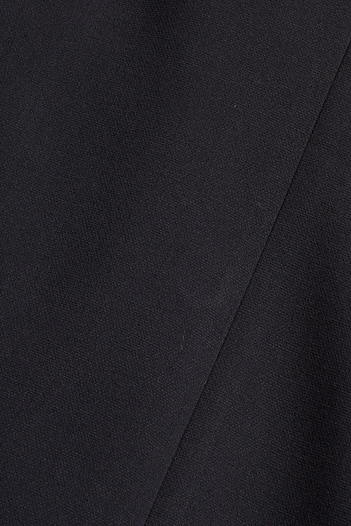 Blazer casual con diseño de dos filas de botones, BLACK, detail image number 4