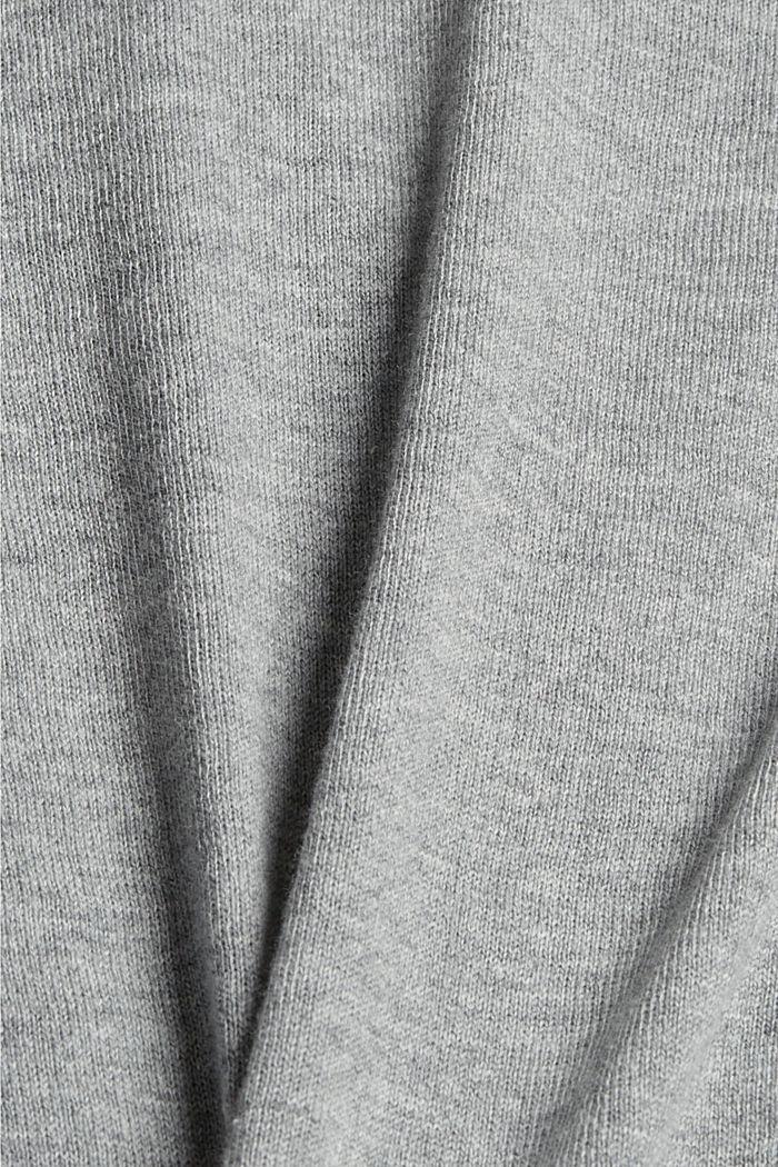 Vest van 100% pima katoen, MEDIUM GREY, detail image number 4