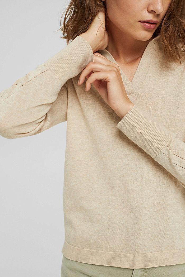 Jersey estilo polo en 100 % algodón Pima