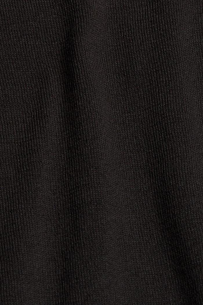 Pullover aus 100% Baumwolle, BLACK, detail image number 4