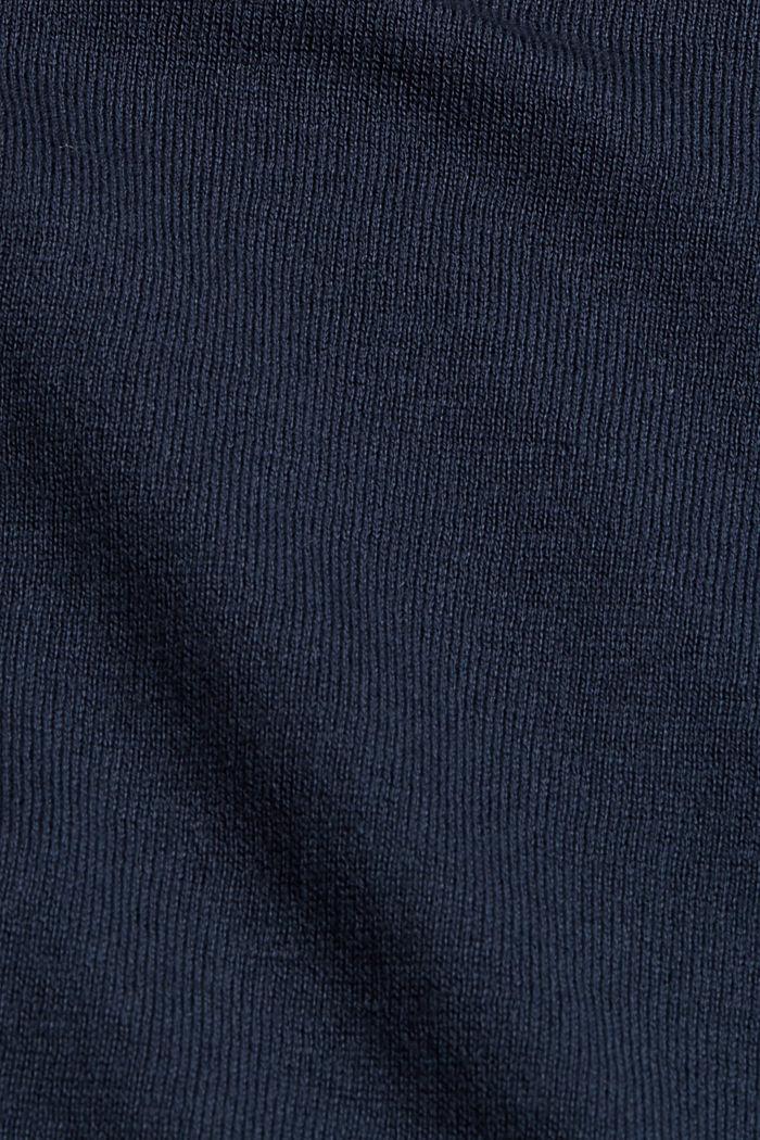 Pullover aus 100% Baumwolle, NAVY, detail image number 4