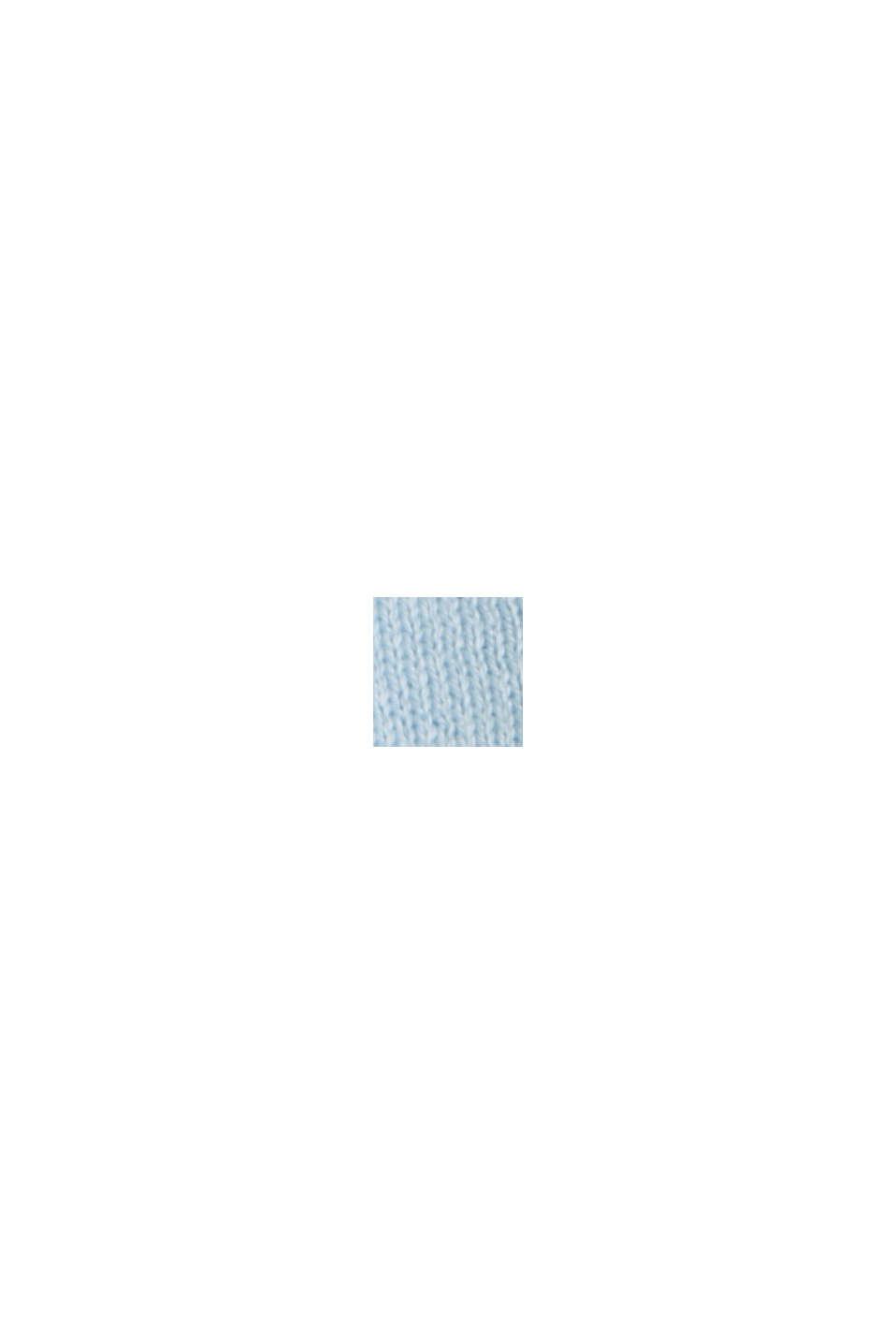 Pullover aus 100% Baumwolle, PASTEL BLUE, swatch