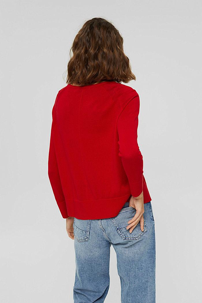 Jersey en 100% algodón, RED, detail image number 3