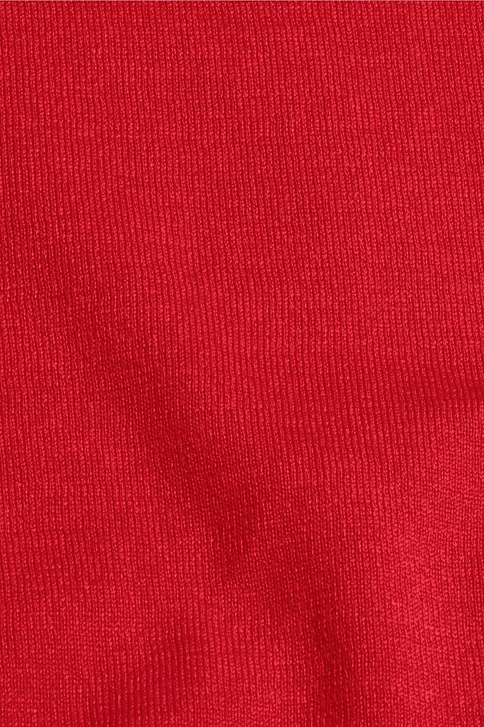 Jersey en 100% algodón, RED, detail image number 4