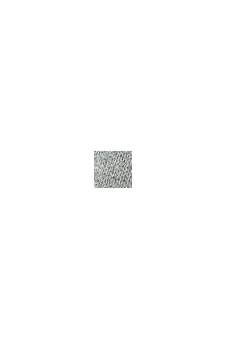 Jersey estilo sudadera de algodón Pima, MEDIUM GREY, swatch