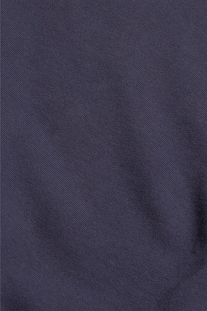 Sweatshirt made of 100% organic cotton, NAVY, detail image number 4