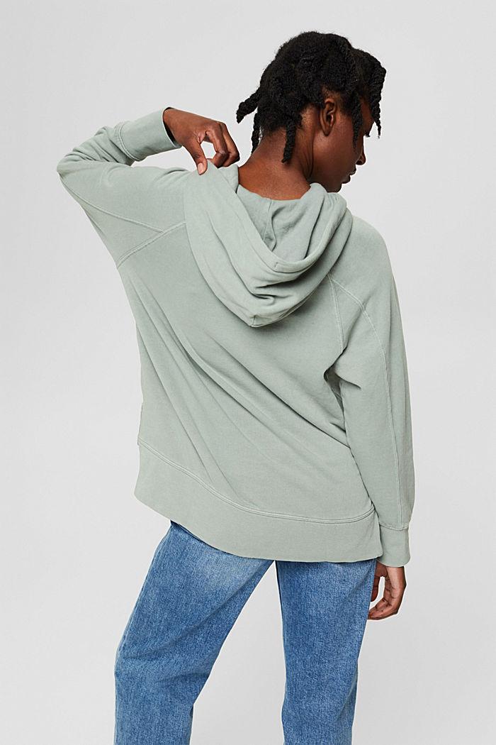 Sweatshirts, DUSTY GREEN, detail image number 3