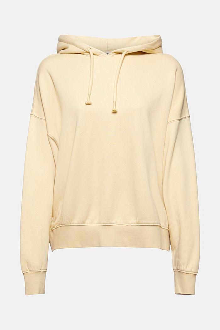 Sudadera con capucha desenfadada con logotipo, 100% algodón ecológico