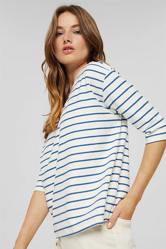 Heavy-Jersey T-Shirt aus 100% Bio-Baumwolle, BRIGHT BLUE, detail image number 0