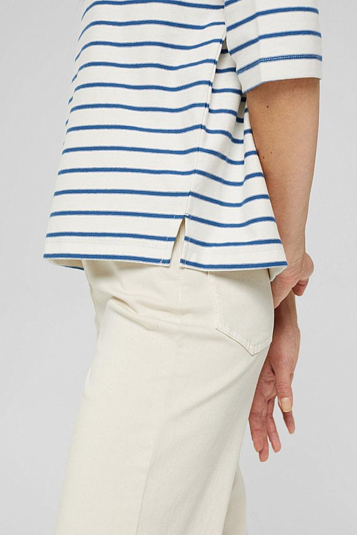 Heavy-Jersey T-Shirt aus 100% Bio-Baumwolle, BRIGHT BLUE, detail image number 2