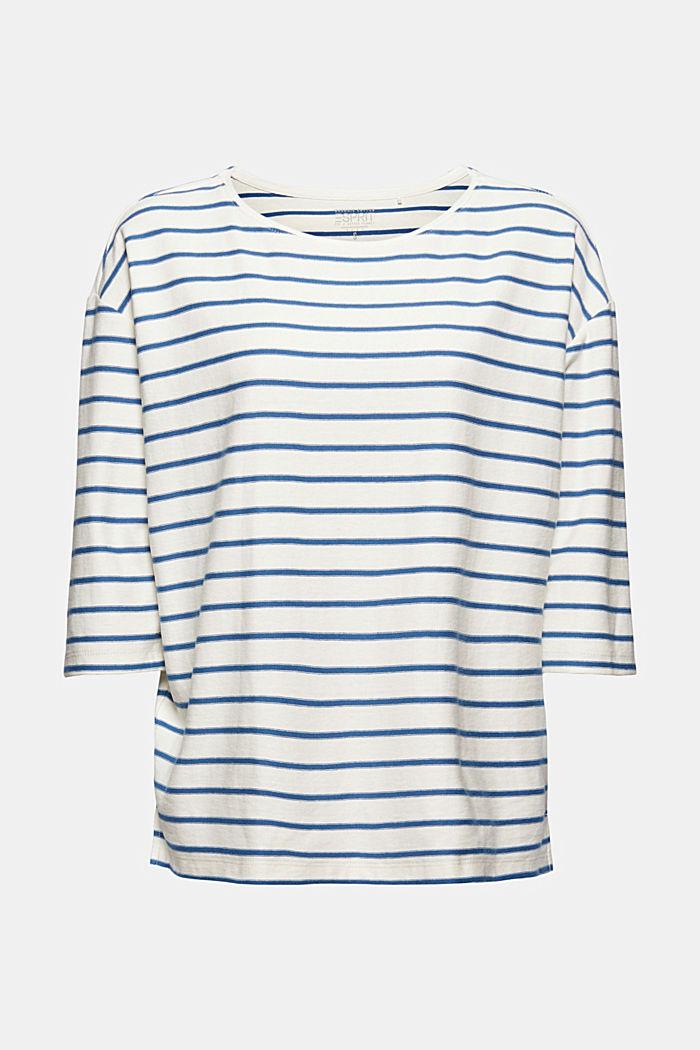 T-shirt i heavy jersey af 100% økobomuld