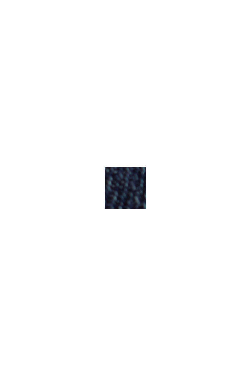 Denim chino van biologisch katoen, BLUE DARK WASHED, swatch