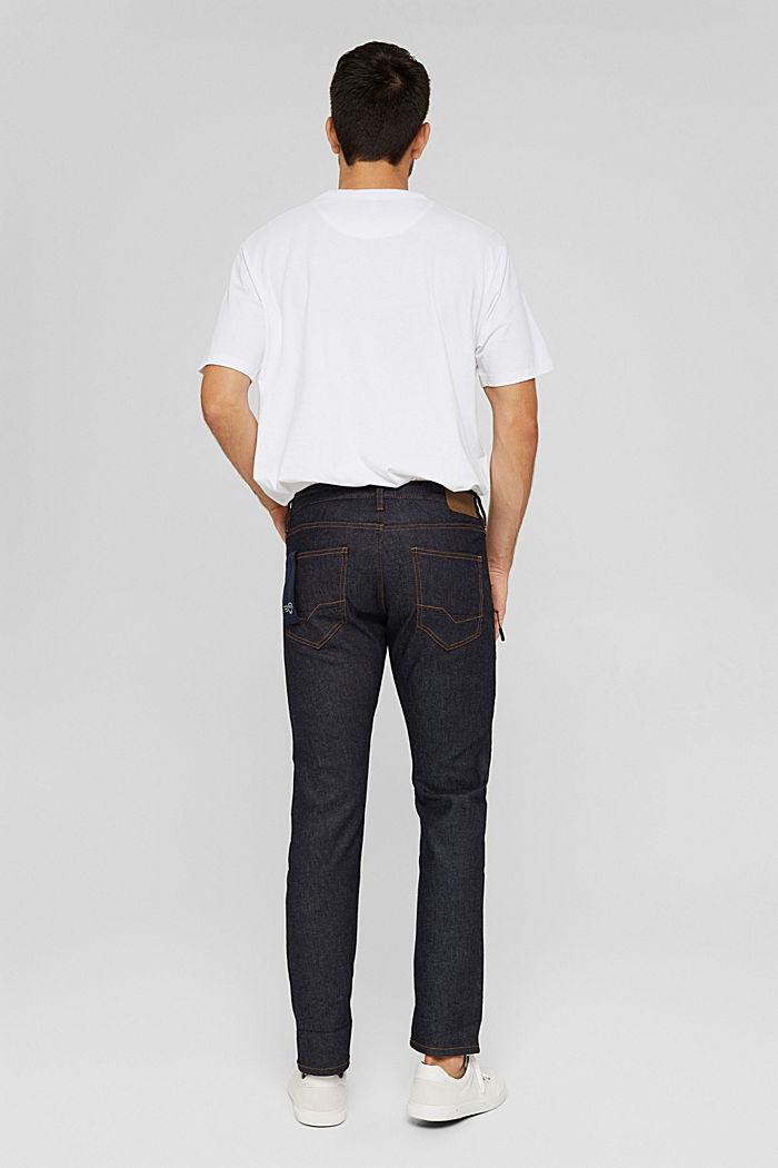 #ReimagineFlexibility: reflective jeans, BLUE RINSE, detail image number 1