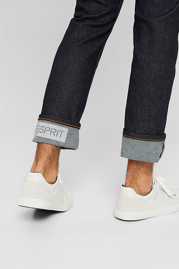 #ReimagineFlexibility: reflective jeans, BLUE RINSE, detail image number 4