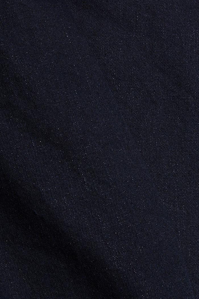 Stretch-Jeans aus Bio-Baumwoll-Mix, BLUE RINSE, detail image number 5