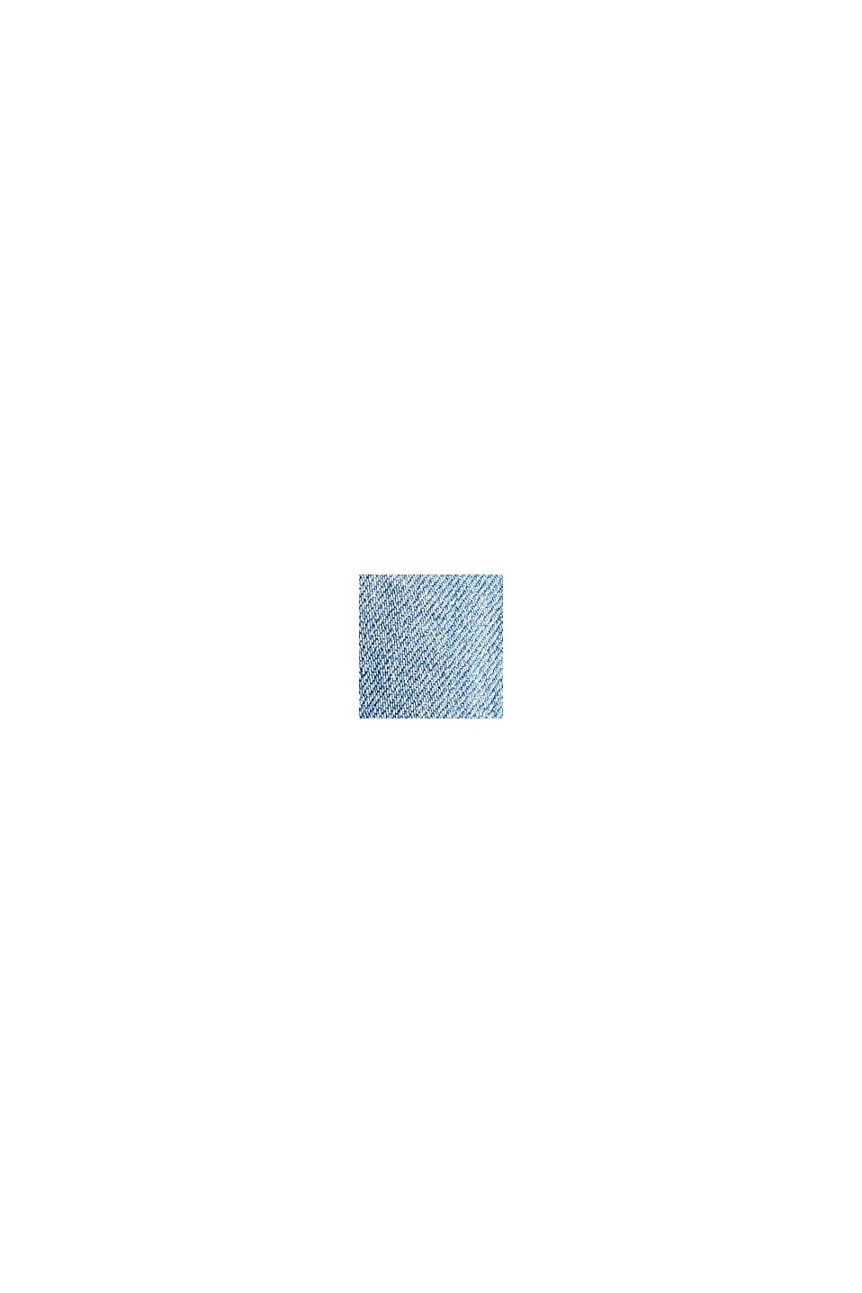 Stretchjeans van een mix met biologisch katoen, BLUE MEDIUM WASHED, swatch