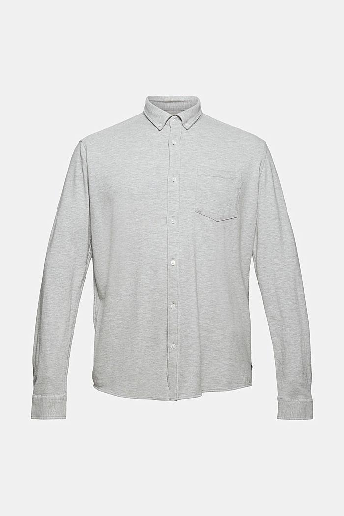 Jersey-Hemd aus 100% Baumwolle