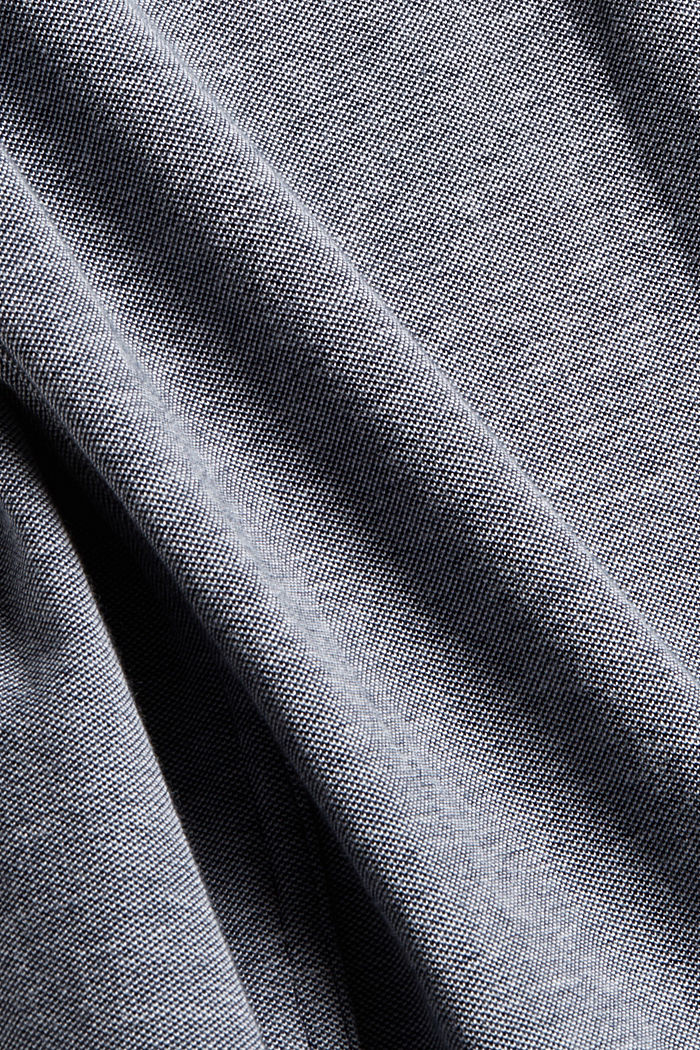 Jersey shirt made of 100% cotton, NAVY, detail image number 4