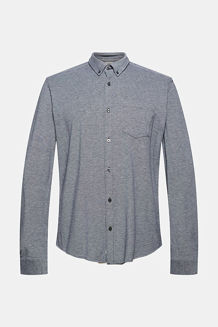 Jersey shirt made of 100% cotton, NAVY, detail image number 7